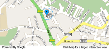 Map - Headingley, Leeds